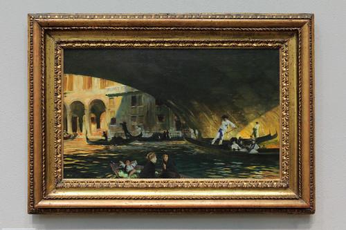 John Singer Sargent - The Rialto, Venice (1911)