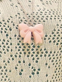 colgante lazo rosa4