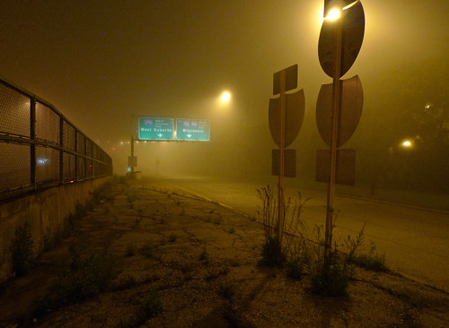 on-ramp (under vapor and fog)