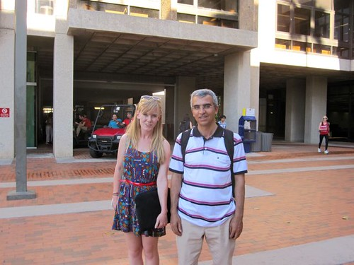 Ahmet and I