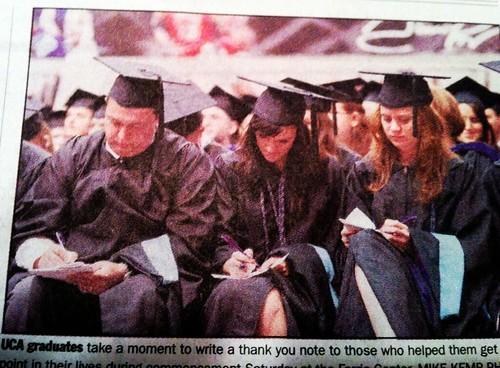 Mike's graduation