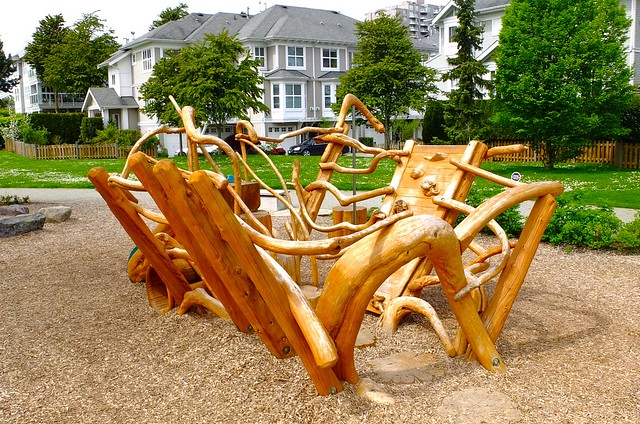 Driftwood Playground | River District Centre, Vancouver