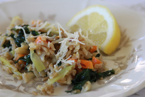 Oat Groats and Kale5