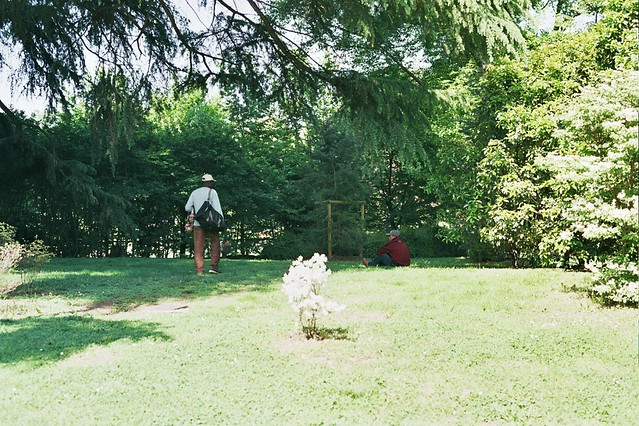 milan, italy, trip, travel, fun, city, streets, emotions, feelings, short stay, 35mm film, Fujifilm 400, seller, public park, chilling, people