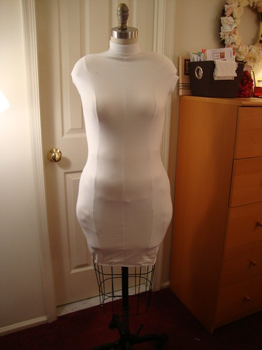 my dressform final padding
