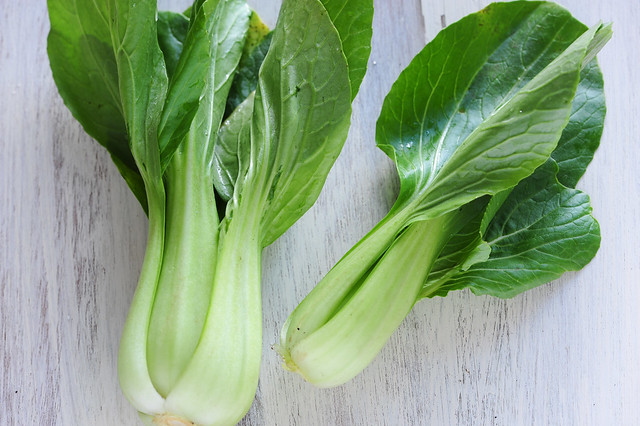 bok choy & mustard salad | Asian Vegetables to Grow in Your Garden This Autumn | FineChoiceFoods.com