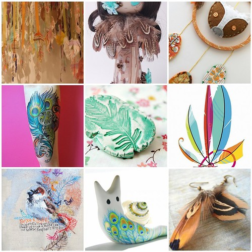 Friday Funspiration: Feathers