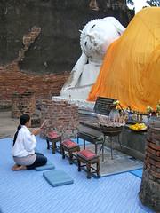 Wihan Phraphutthasaiyat/ Reclining Buddha