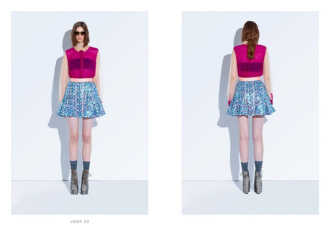 daisybutter - UK Style and Fashion Blog: three floor fashion, fashion editorial, SS12 lookbook, high summer7