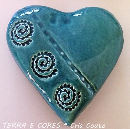 Coração Turquesa by cris couto 73