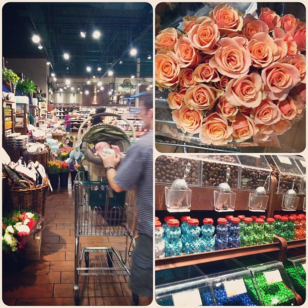 Love Fresh Market...if only for the flowers!