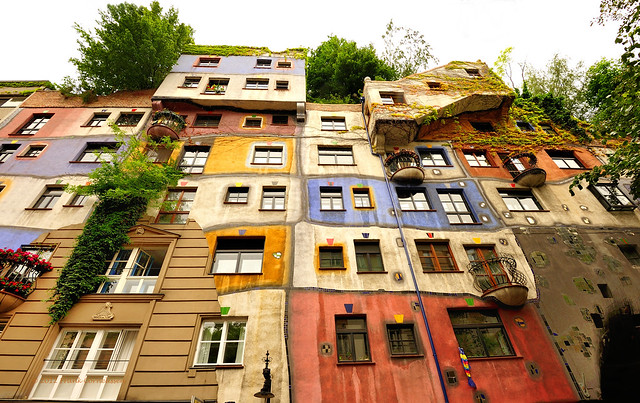 Project Flickr Week 52 Showcase - 1 - Hundertwasserhaus Vienna