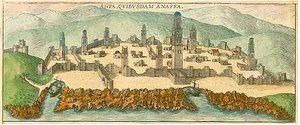 gravure d'Anfa en 1572