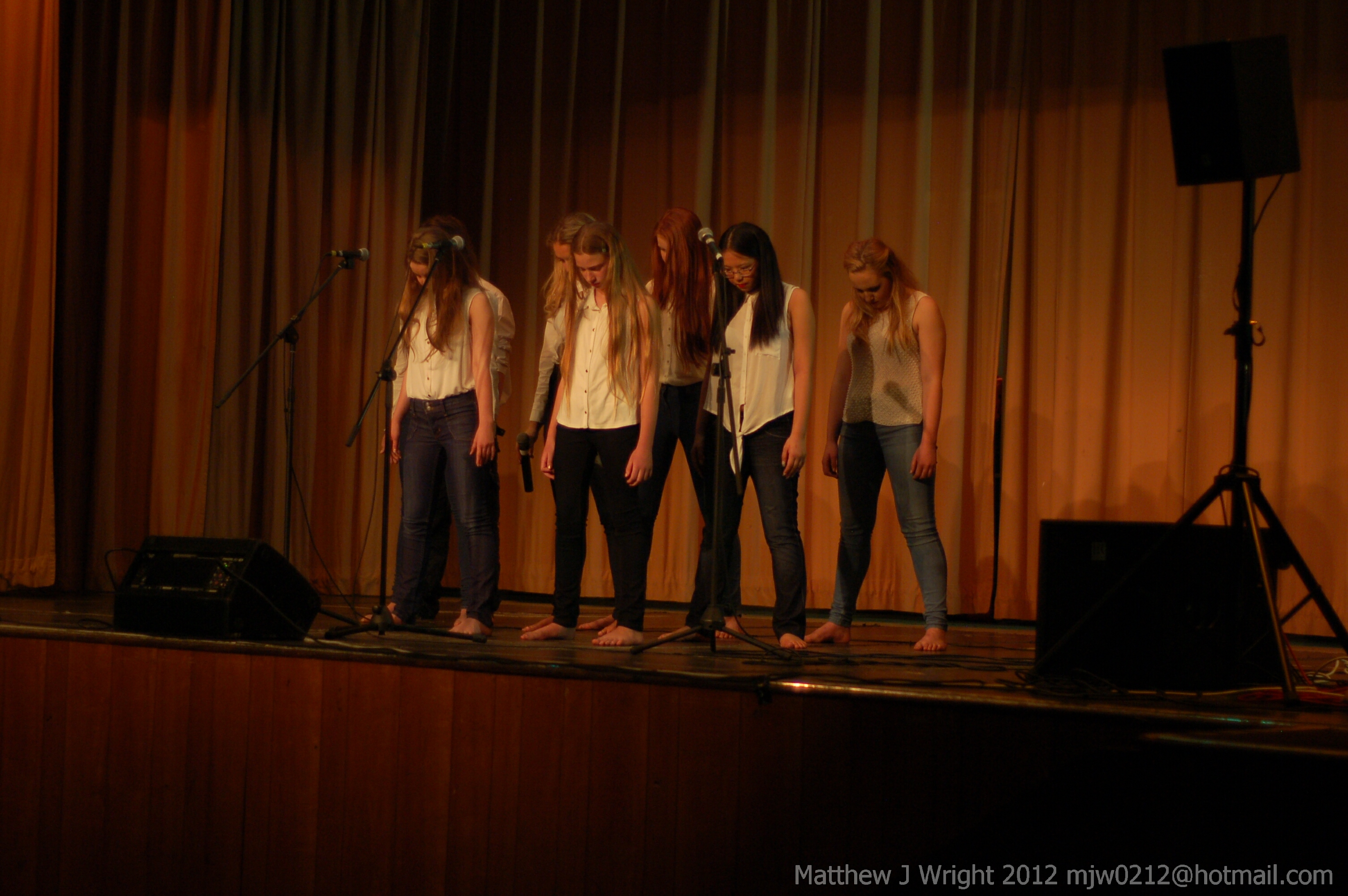 Northern Song Stars Singing Competition Ormskirk May 2012