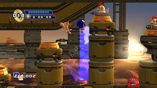 Sonic 4 Episode II - Zone 4 Act 3