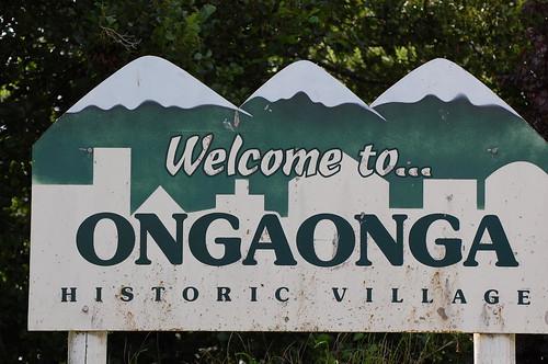 Ongaonga Historic village.