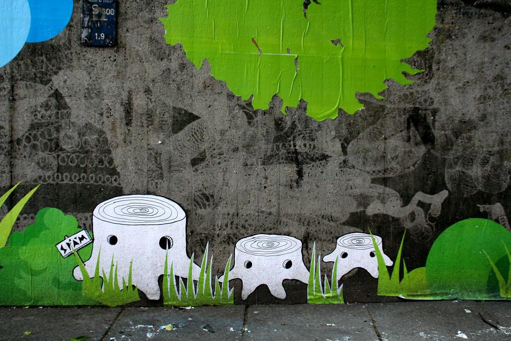 Street Art Späm