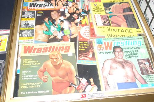 Vintage Wrestling Mags