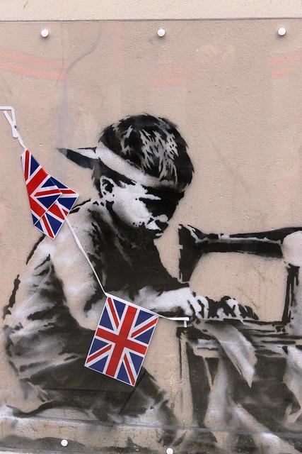 Banksy on Whymark