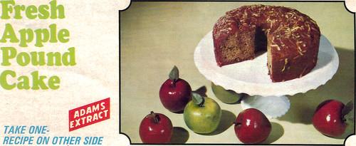 fresh apple pound cake