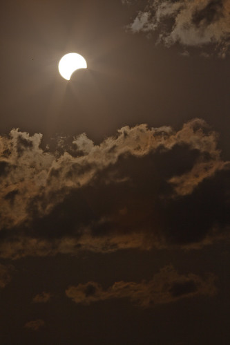 sun clouds eclipse tx crescent astronomy nm solareclipse annulareclipse lubbocklunacy