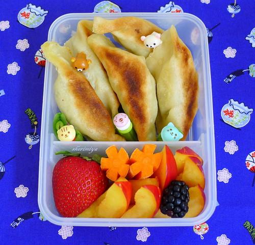 Gluten-Free Gyoza Bento by sherimiya ♥