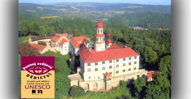 Poznej světové dědictví UNESCO 2012 na zámku Náchod