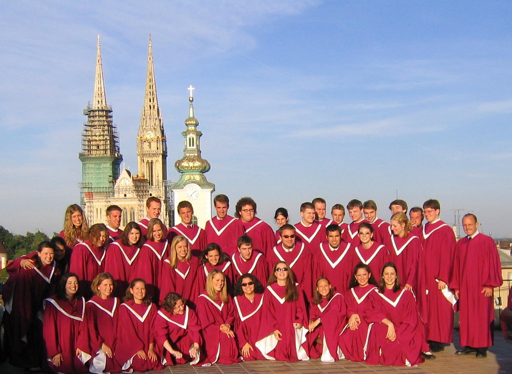 Rooke Chapel Choir in Zagreb, Croatia