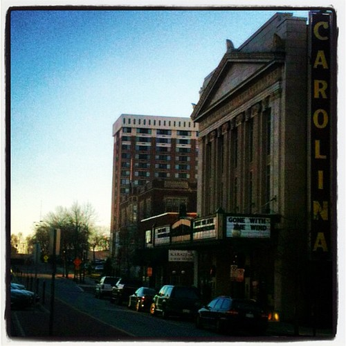 Carolina Theatre by Greensboro NC