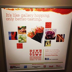 "Problems I have with this poster: 1) What the fuck is ""gallery hopping""?! That's not a thing, so why would I want something ""like"" that? 2) ""better-tasting"" shouldn't have a hyphen. ""Gallery hopping"" (if it were actually a thing) arguably *should* have a"