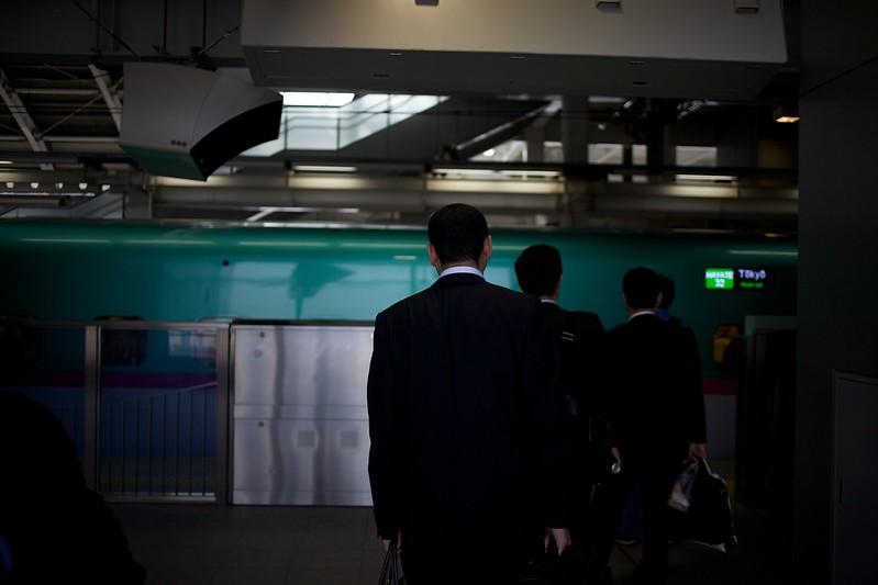 青森2012 新幹線はやて 八戸からさいまたへ