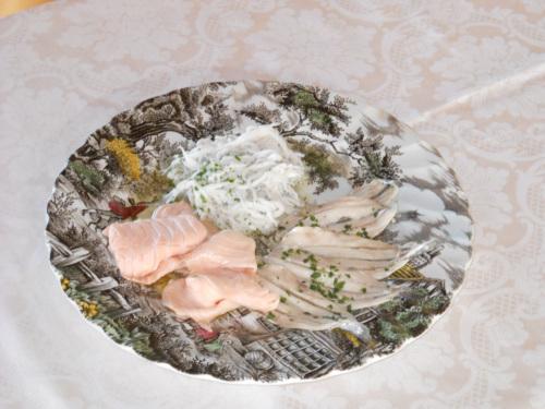 Pesce marinato del golfo di Sorrento al ristorante Antico Francischiello foto di Vincenzo Califano