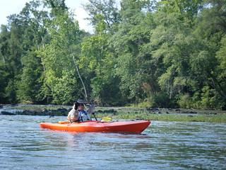 Broad River Paddling May 26, 2012 4-46 PM