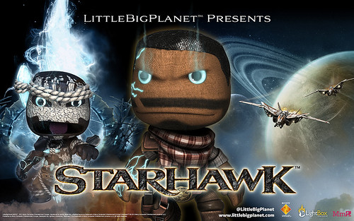 Sony Announces Starhawk Minipack for LittleBigPlanet