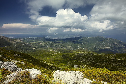 landscape greece lefkada