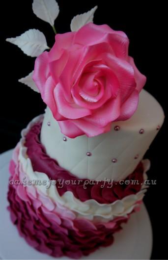 Rose Petal Cake Images : Rose Petal Cake. Flickr - Photo Sharing!