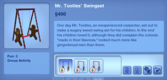 Mr. Tootles' Swingset