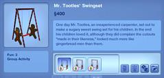 Mr. Tootles' Swingset