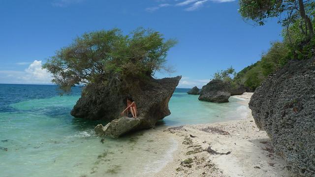 Mica in Kagusuan Beach, Siquijor