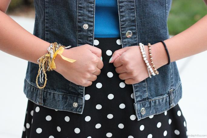 hanging bracelets
