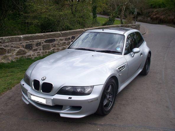 1998 BMW Z3 M Coupe | Arctic Silver | Imola/Black