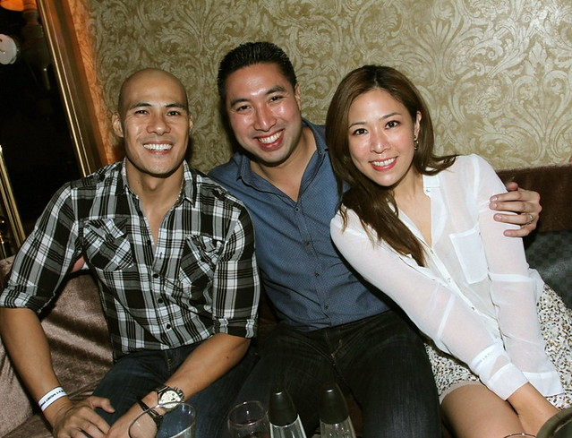 Rovilson Fernandez, Vice Mayor Francis Zamora and wife Keri
