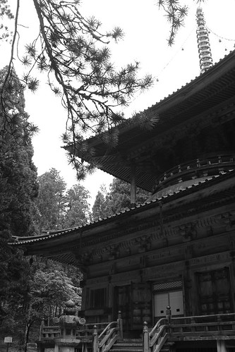 Platform Buddhist temple  West  Tower  by leicadaisuki