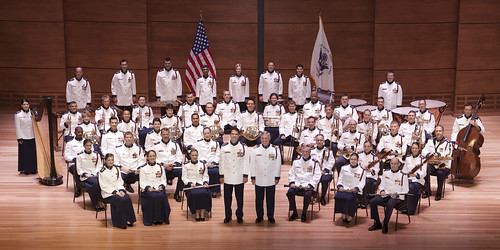 U.S. Coast Guard Band. U.S. Coast Guard photograph taken by Harold Shapiro.