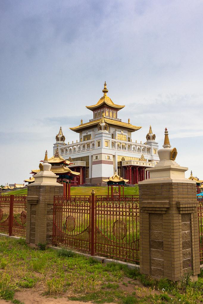 Russia. 13.06.2009 Elista. The Golden Abode of the Buddha Shakyamuni-004
