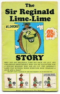 "1967 Pillsbury ""Funny Face"" Promo Comic: ""SIR REGINALD LIME-LIME STORY"""