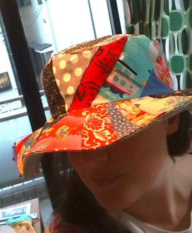 patchwork sunhat