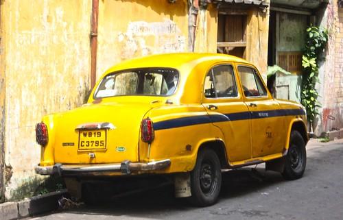 Kolkata taxi cab