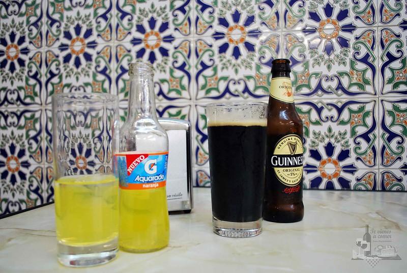 Refresco y Guinness