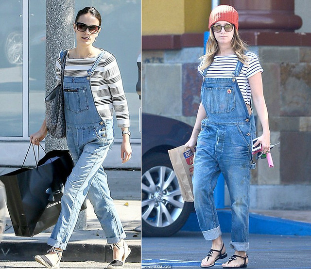 Denim Dungarees/overalls/all-in-one/onesies/jumpsuit trend ...